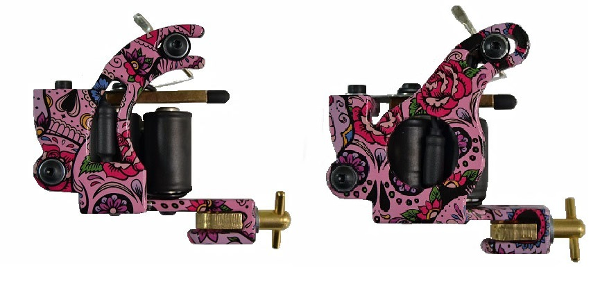 micky sharpz tattoo machines new mkiv custom telephone dial and